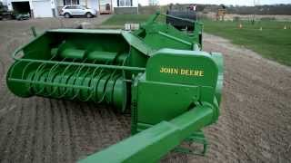 getlinkyoutube.com-John Deere 24T Square Baler Restoration