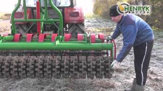 HENRYK BATYRA - Wał gumowy do agregatów uprawowych, GEPARD, LEW, brona talerzowa
