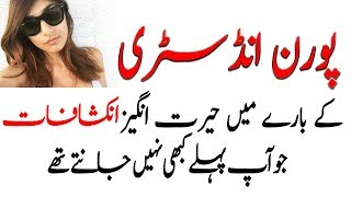 Amazing Hidden Facts About Porn Industry - Urdu!