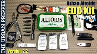 getlinkyoutube.com-Urban Altoids EDC Tin (v2.2) by TheUrbanPrepper
