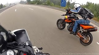 getlinkyoutube.com-KTM SM Prototype (RC8R) - Extreme Riding (Wheelies, Top speed, Twisty)