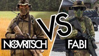 getlinkyoutube.com-NOVRITSCH vs. SNIPERBUDDY FABI | Airsoft Sniper Duel