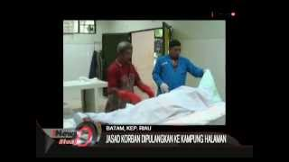 getlinkyoutube.com-Mayat Wanita Telanjang Di Pastikan Korban Pembunuhan, Batam- iNews Siang 25/06