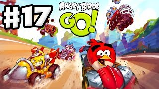 Angry Birds Go! Gameplay Walkthrough Part 17 - Tough Races! Air (iOS, Android)