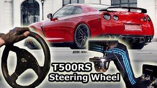 getlinkyoutube.com-Nissan GTR35 Street Racing - City Car Driving, t500 rs th8rs Steering Wheel Gameplay. HD 1080p 2014