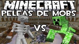 getlinkyoutube.com-Minecraft: Peleas de Mobs - Esqueleto Mutante Vs Creeper Mutante con IncrossMX!