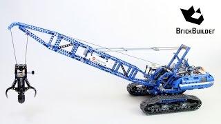 getlinkyoutube.com-Lego Technic 42042 Crawler Crane - Lego Speed build