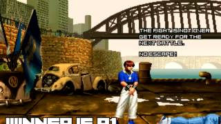 getlinkyoutube.com-[KOF Mugen]Plunder Invitaion KOF ▶ Shermie, Chris, Yashiro, Brian Battler, Heavy D!, Lucky Glauber