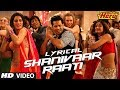 Shanivaar Raati Full Song with Lyrics | Main Tera Hero | Arijit Singh | Varun Dhawan, Ileana DCruz