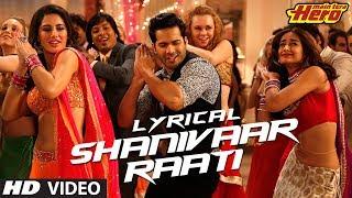 getlinkyoutube.com-Shanivaar Raati Full Song with Lyrics | Main Tera Hero | Arijit Singh | Varun Dhawan, Ileana D'Cruz