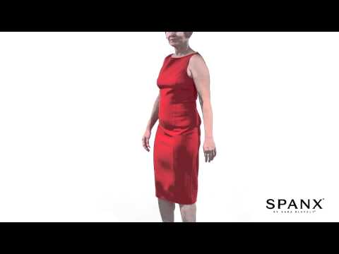 Spanx Before & After: 990 Slimplicity Open-Bust Full Slip