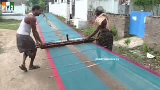getlinkyoutube.com-The Making of World Famous Hand Woven Banarasi Sarees | HOW TO MAKE DESIGNER SAREES