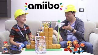 getlinkyoutube.com-amiibo TIME!!! ft. Super Mario Maker, Yoshi's Woolly World & Mario Tennis Super Smash