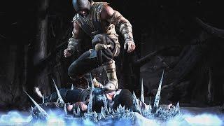 getlinkyoutube.com-Mortal Kombat X - Scorpion/Sub-Zero Mesh Swap Intro, X Ray, Victory Pose, Fatalities and Brutality