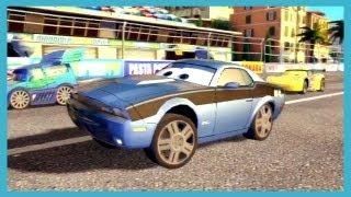 getlinkyoutube.com-Cars 2 The Video Game SNOT ROD vs ROD 'TORQUE' REDLINE vs BOOST vs DJ 4 Player
