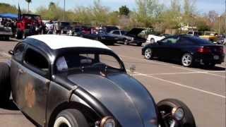 "getlinkyoutube.com-1963 Volkswagen Beetle, Kafer, Bug. Chopped Rat Rod  ""The VolksRod"""
