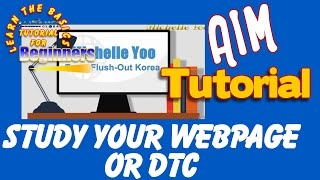 getlinkyoutube.com-STUDY YOUR WEB PAGE or DTC- AIM GLOBAL(TAGALOG)