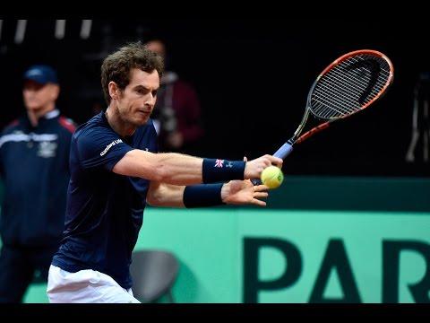 Highlights: Ruben Bemelmans (BEL) v Andy Murray (GBR)