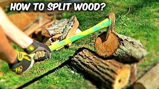 getlinkyoutube.com-You've Been Splitting Firewood with an Axe Wrong