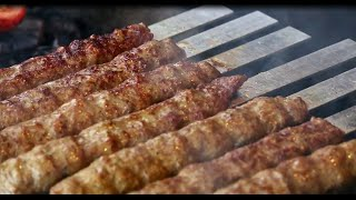 getlinkyoutube.com-Persian Koobideh BBQ kebab by International Cuisines