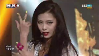 getlinkyoutube.com-RANIA 라니아 - Demonstrate (데몬스트레이트) Di 디 Stage Compilation [1080pHD]