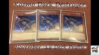 getlinkyoutube.com-Yu-Gi-Oh! Deck Profile - Kozmo (Dark Destroyer) November 2015 Format