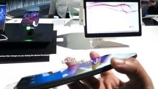 getlinkyoutube.com-استعراض هاتف ال جي المنحني LG G Flex في معرض CES 2014