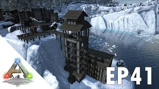ARK Survival Evolved S1Ep41 Capping The Elevator Tower!