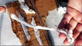 Ψαρεμα Σκαθαρια με λουριδες καλαμαρι