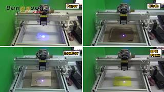 getlinkyoutube.com-500mW Desktop DIY Laser Engraving Machine Laser Engraver Cutter - Banggood.com