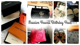 getlinkyoutube.com-Massive Hawaii Birthday Haul!!!