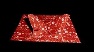 Origami Schmetterlings-Umschlag: Butterfly-Envelope - Tutorial [HD]