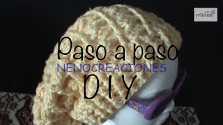 getlinkyoutube.com-Gorro Boina Slouchy Adulto Ganchillo, Crochet Slouchy Beret 1 de 2 DIY