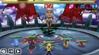 getlinkyoutube.com-Trial of Ascendsion 100F Lyrith speed run   Summoners War 魔靈召喚 100F 莉莉絲速刷