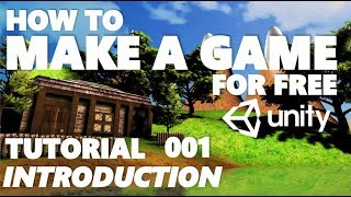 Unity Tutorial For Beginners - How To Make A Game - Part 001