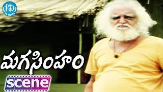 getlinkyoutube.com-Maga Simham Movie - Mukku Raju, Aakumarthi, Anu Climax Scene