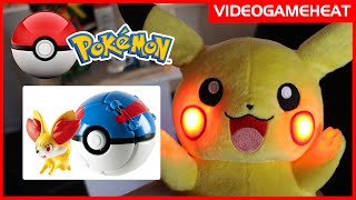getlinkyoutube.com-POKEBALLS in REAL LIFE: Throw and Pop Pokeballs | Pokemon Toys By TOMY
