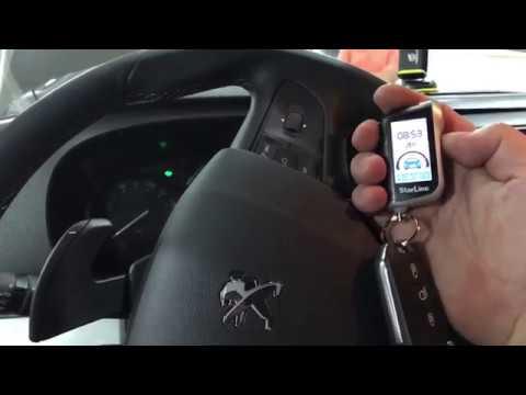 Peugeot Traveller сигнализация StarLine A63 с обратной связью. Обзор установленной сигналки