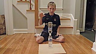 getlinkyoutube.com-Water Bottle Flip Trick Shots 2 | That's Amazing