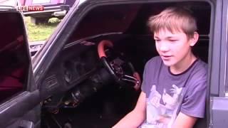 getlinkyoutube.com-Гоночный автомобиль собрал школьник своими руками