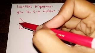 Cara mudah mengerjakan Identitas Trigonometri (part 1)