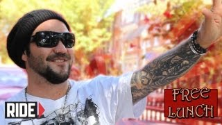 getlinkyoutube.com-Bam Margera Meets Lil Wayne, Hits Stevie Williams and Can't Ever Be Too Gay On Free Lunch