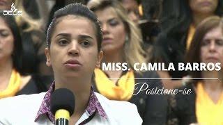 getlinkyoutube.com-Pregação Miss. Camila Barros- CIBET 2016 | Posicione-se