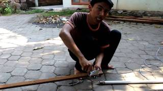 getlinkyoutube.com-Dewata Elektronik - Pemasangan Antena Omni BanjarNet