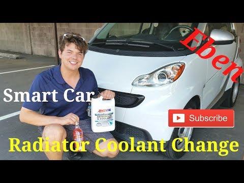 Smart Car AMSOIL Radiator Coolant Change