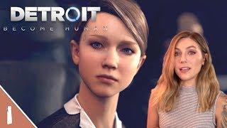 Becoming Kara! | Detroit Become Human Pt. 1 | Marz Plays