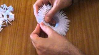 getlinkyoutube.com-Papiroflexia modular - Cisne
