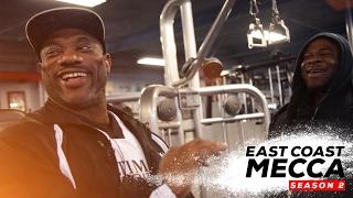 getlinkyoutube.com-Dexter Jackson And Kai Greene Training | East Coast Mecca