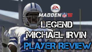 getlinkyoutube.com-96 OVR Legend Michael Irvin | Player Review | Madden 16 Ultimate Team Gameplay | MUT 16