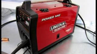 getlinkyoutube.com-Review of Power Mig 180c Welder by Lincoln Electric